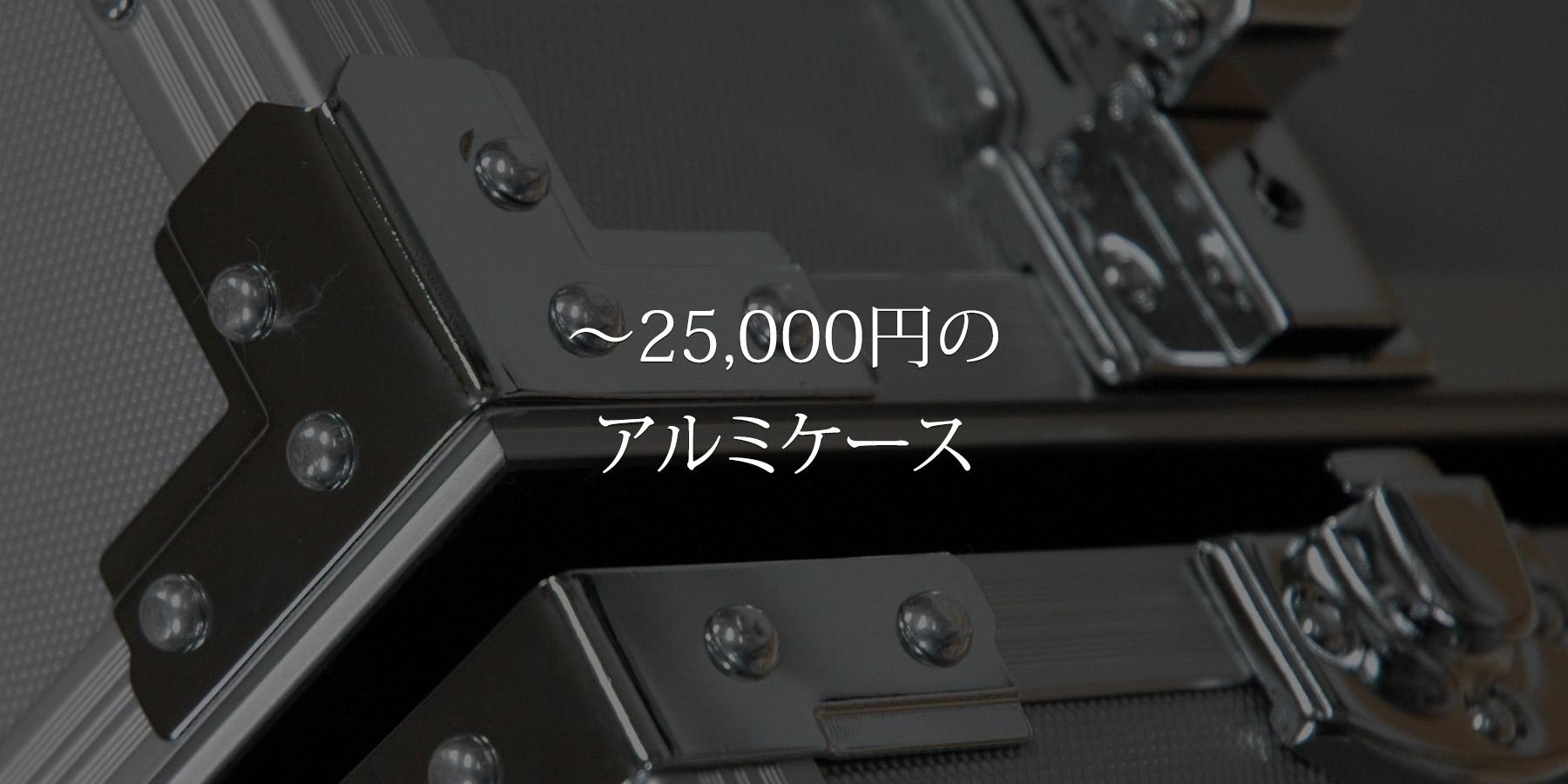 ~25,000円のアルミケース